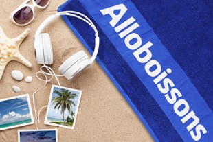A dry summer with Alloboissons the towel!